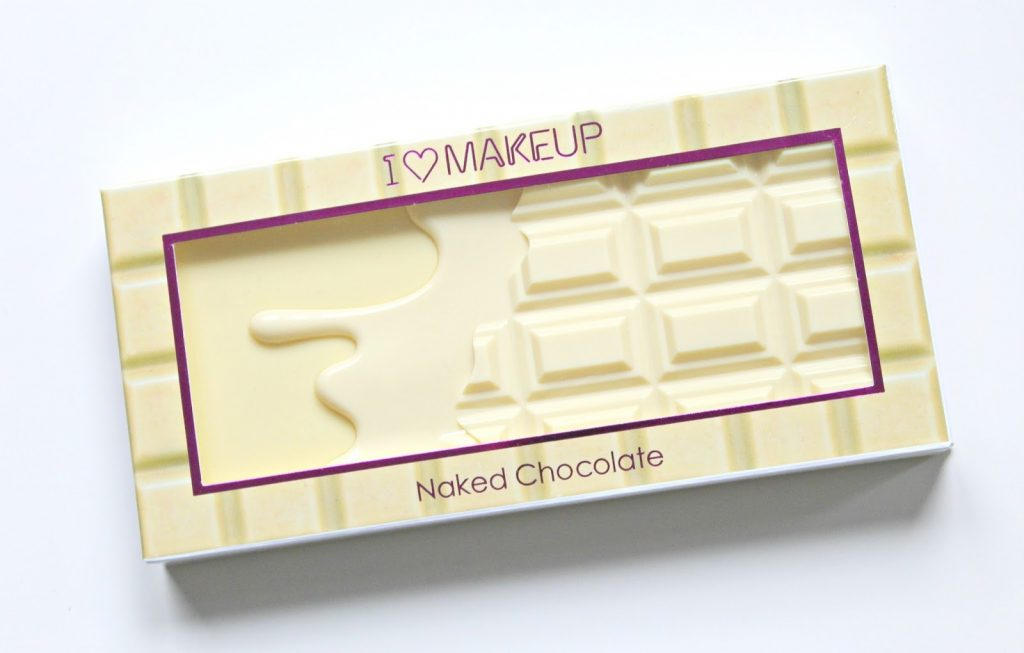 i heart makeup naked chocolate palette