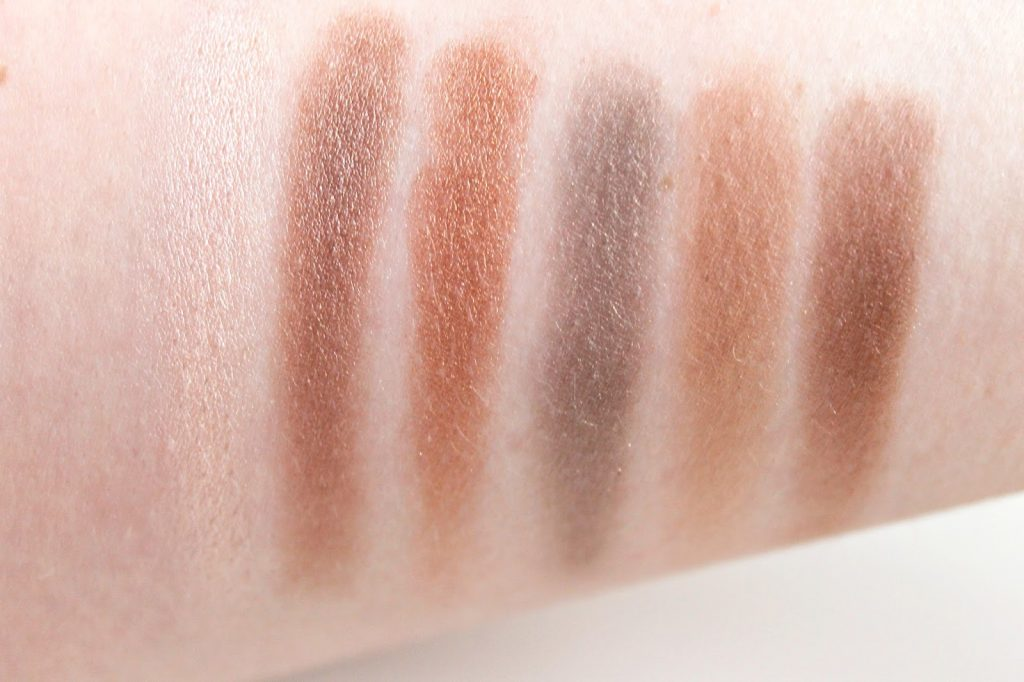 i heart makeup naked chocolate swatches