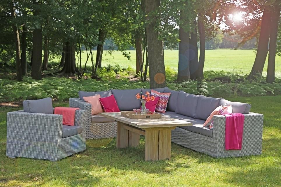 Romantische sfeer tuin