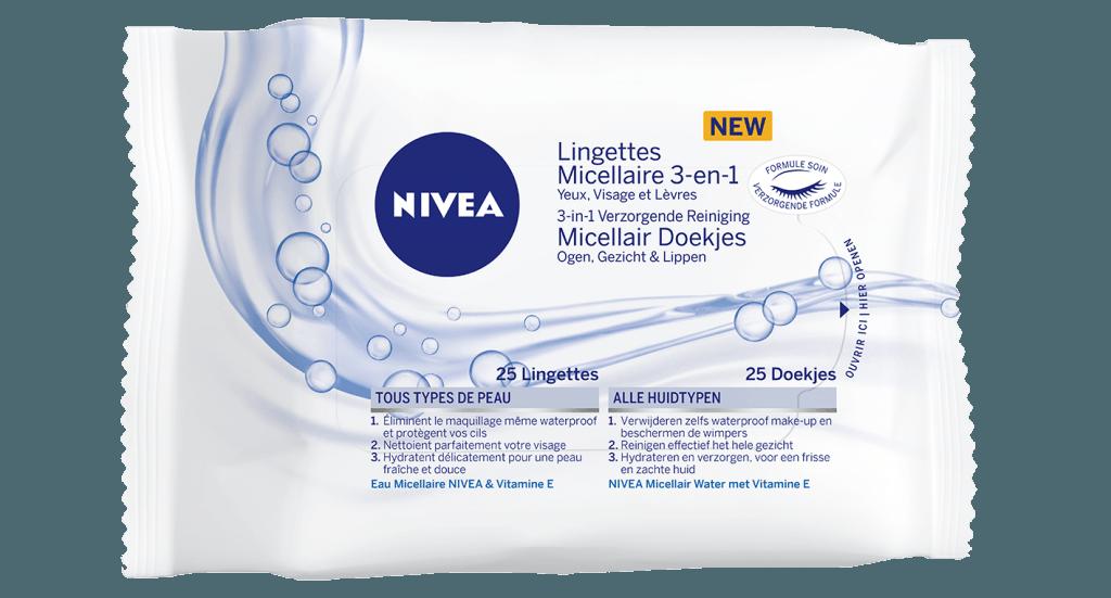 NIVEA 3-in-1 micellaire reinigingsdoekjes