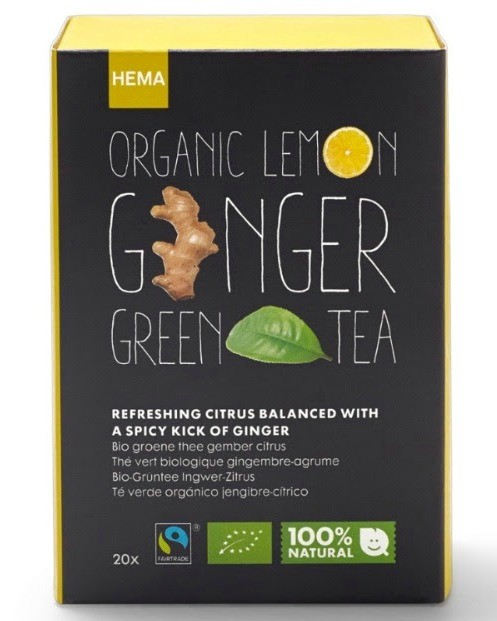 hema lemon ginger thee