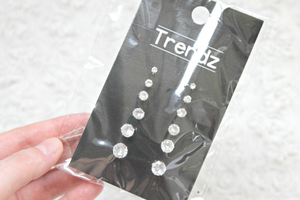 trendz basic glitter oorbellen action