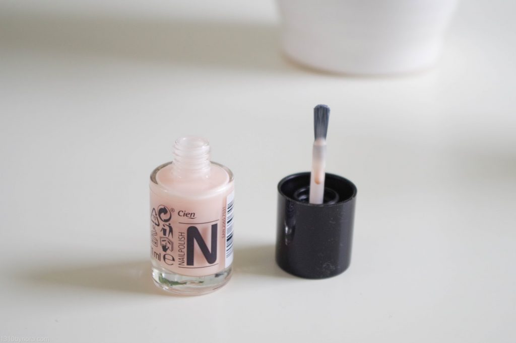 cien nail polish nagellak 11 frenchlook rose