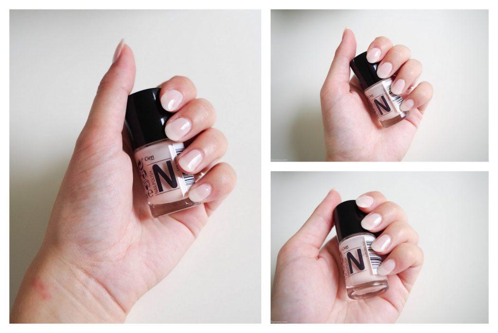 cien nail polish nagellak 11 frenchlook rose swatches