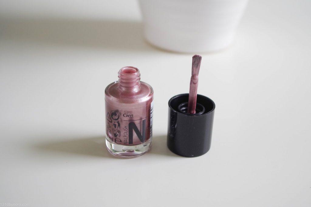 cien nail polish nagellak 13 metallic rose