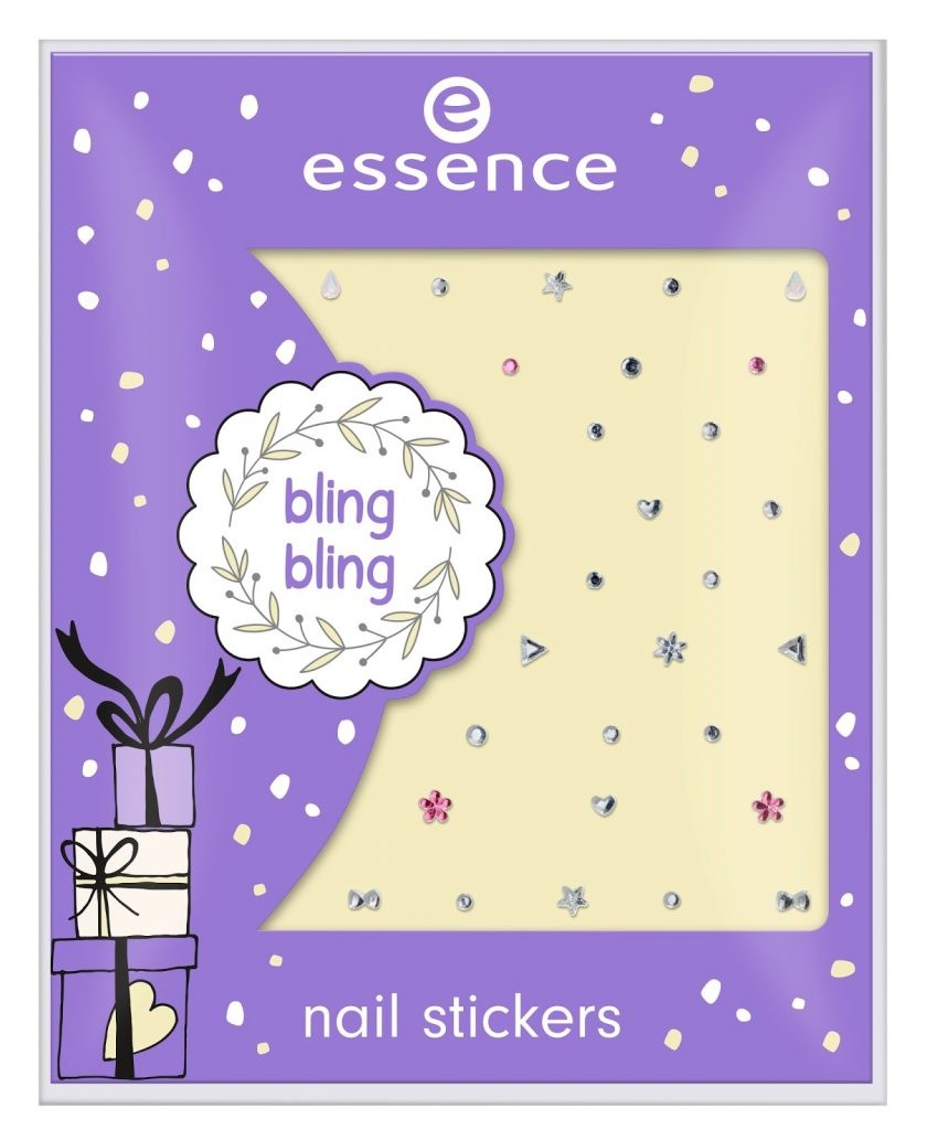 essence bling bling nail stickers