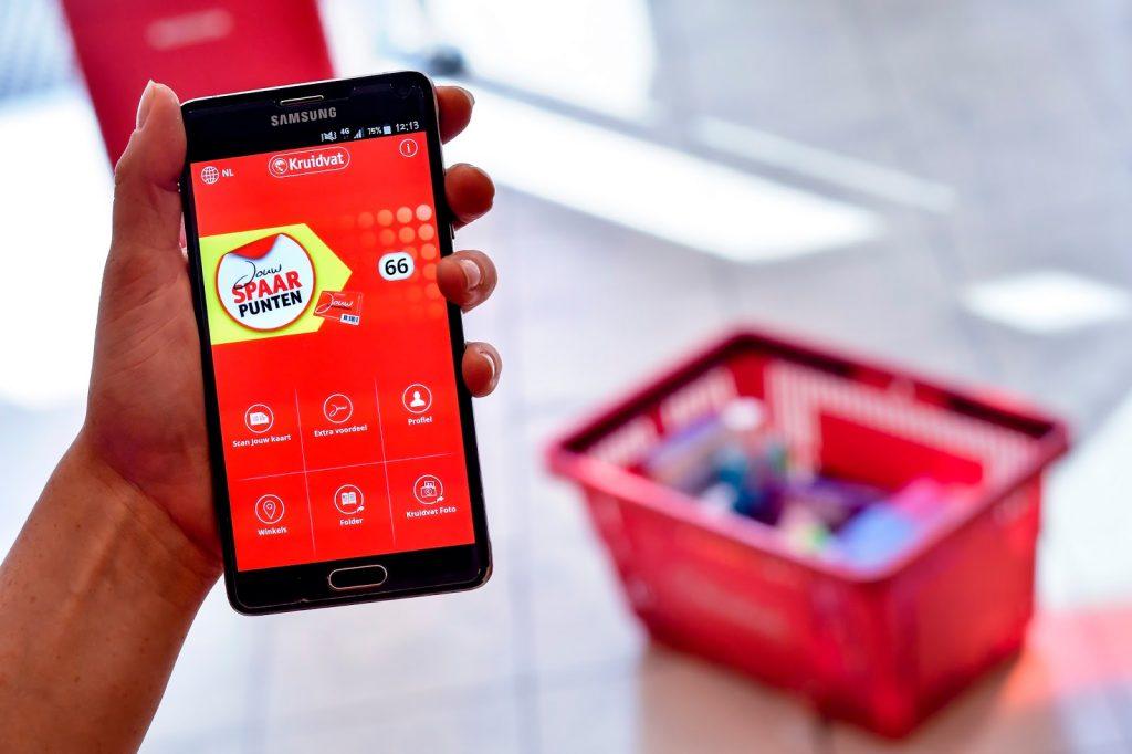 kruidvat app voordeelkaart klantenkaart persoonlijke aanbiedingen