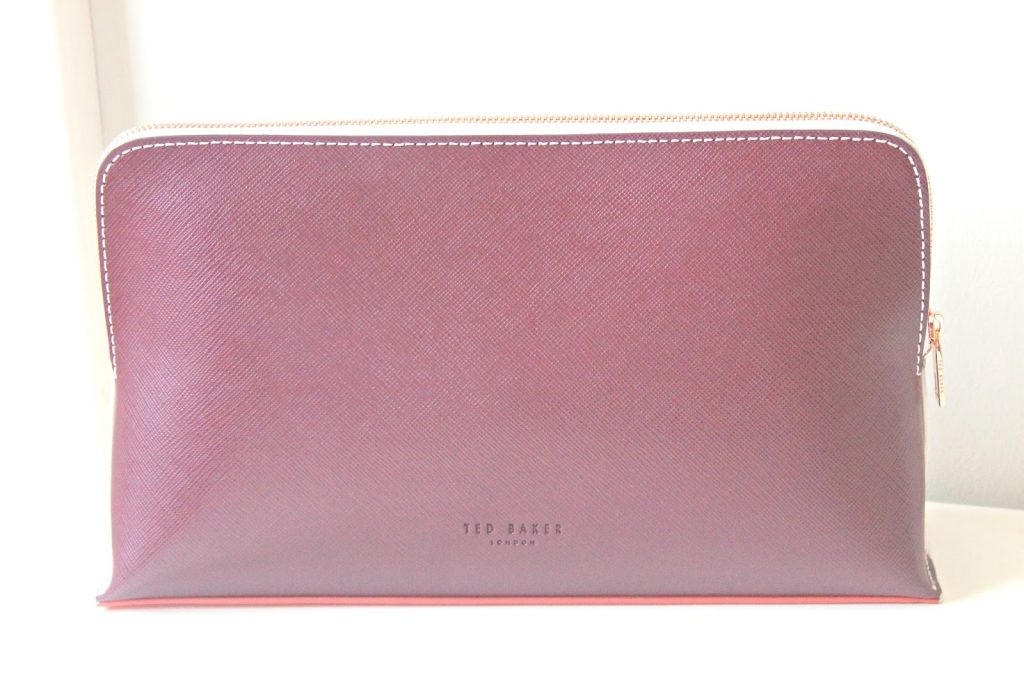 ted baker lauren make up tas baby pink