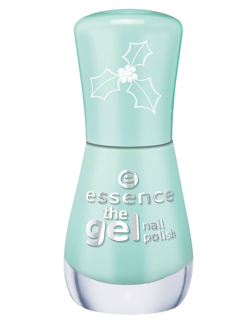 essence the gel nail polish mint