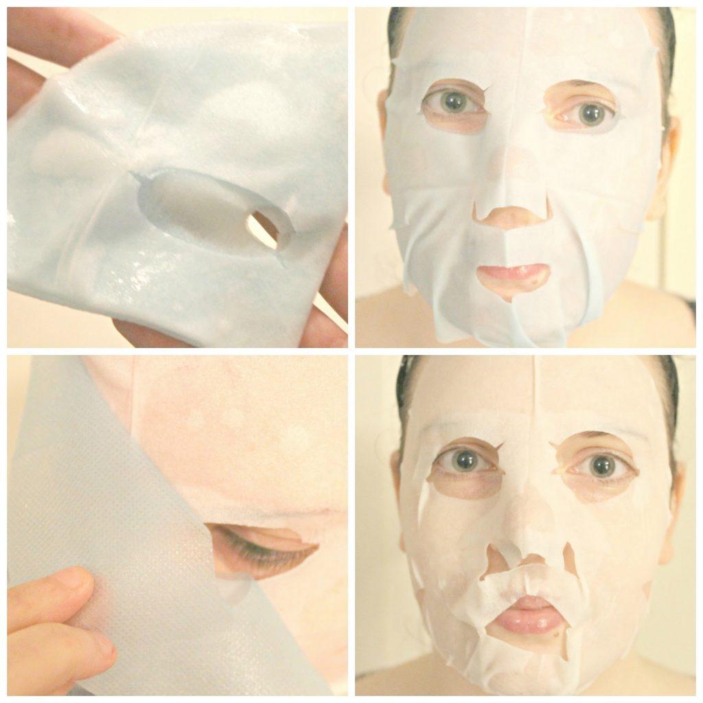 review garnier skinactive hydra bomb tissue masker