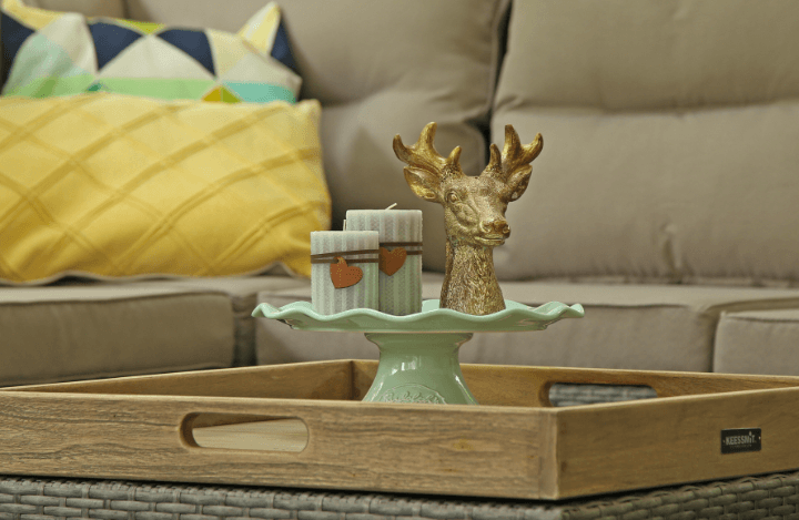 tips inrichten buitenverblijf veranda loungeset tuinmeubelen