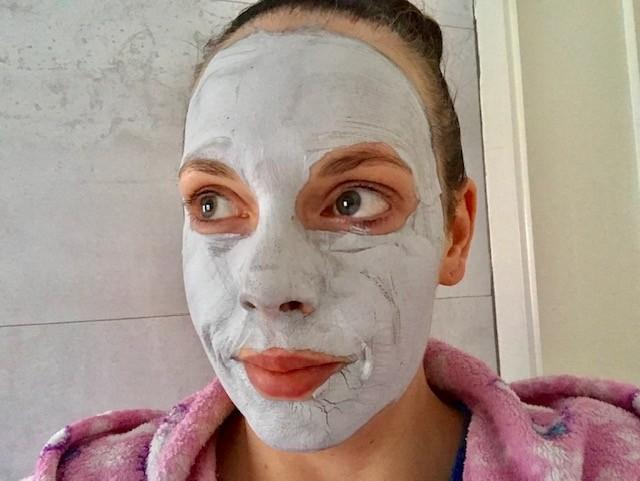 the ritual of namasté mask