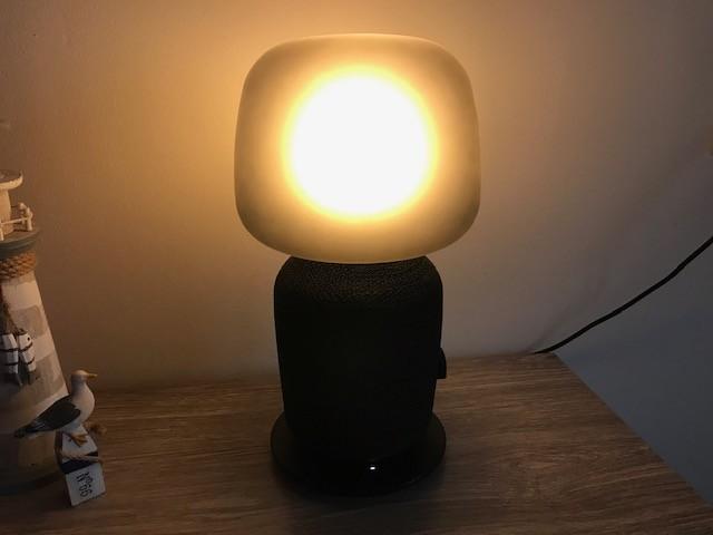tafellamp speaker symfonisk