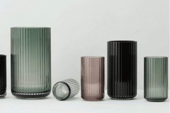 lyngby porcelæn lyngby vaas glas
