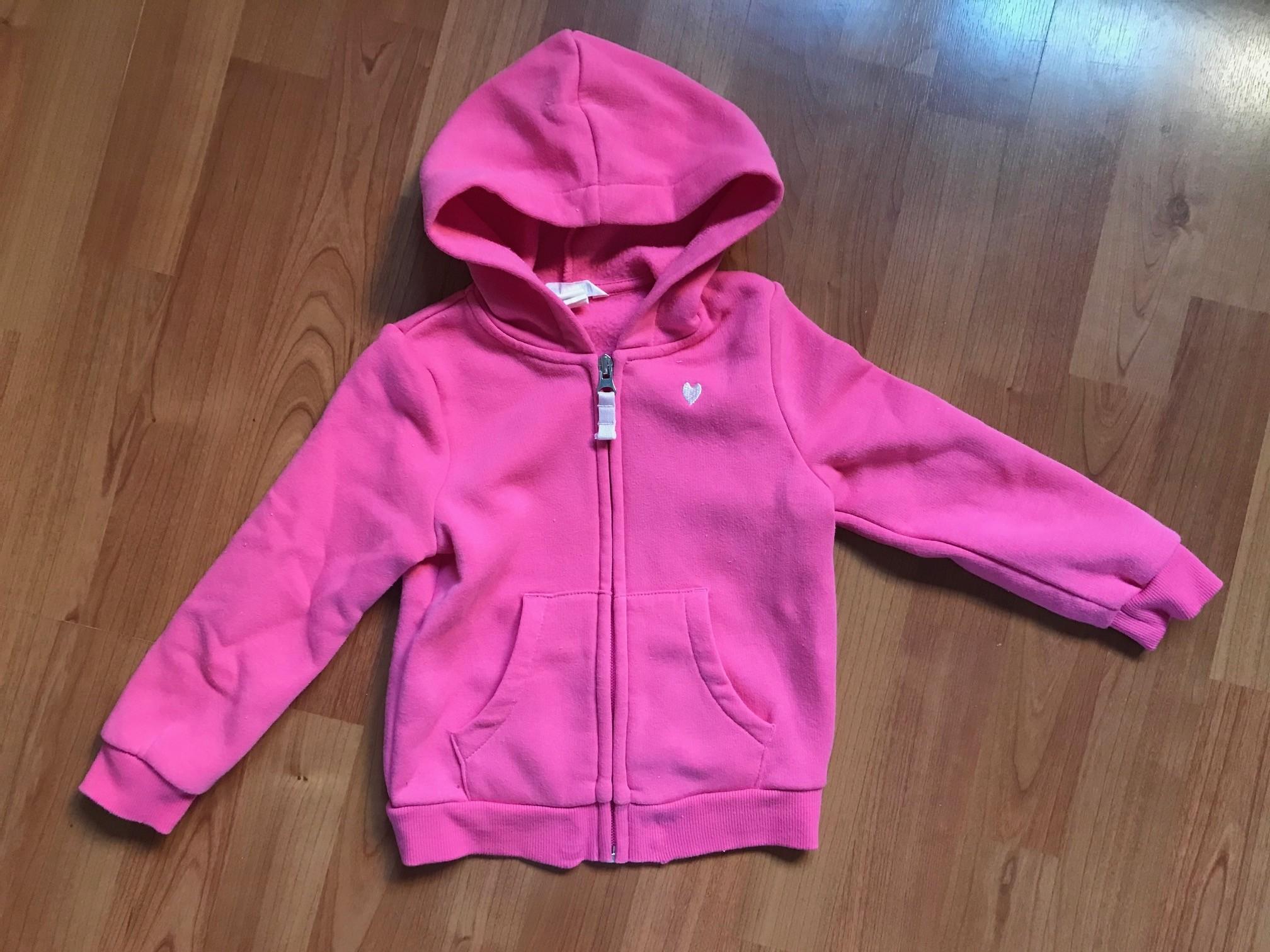 roze hoodie h&m