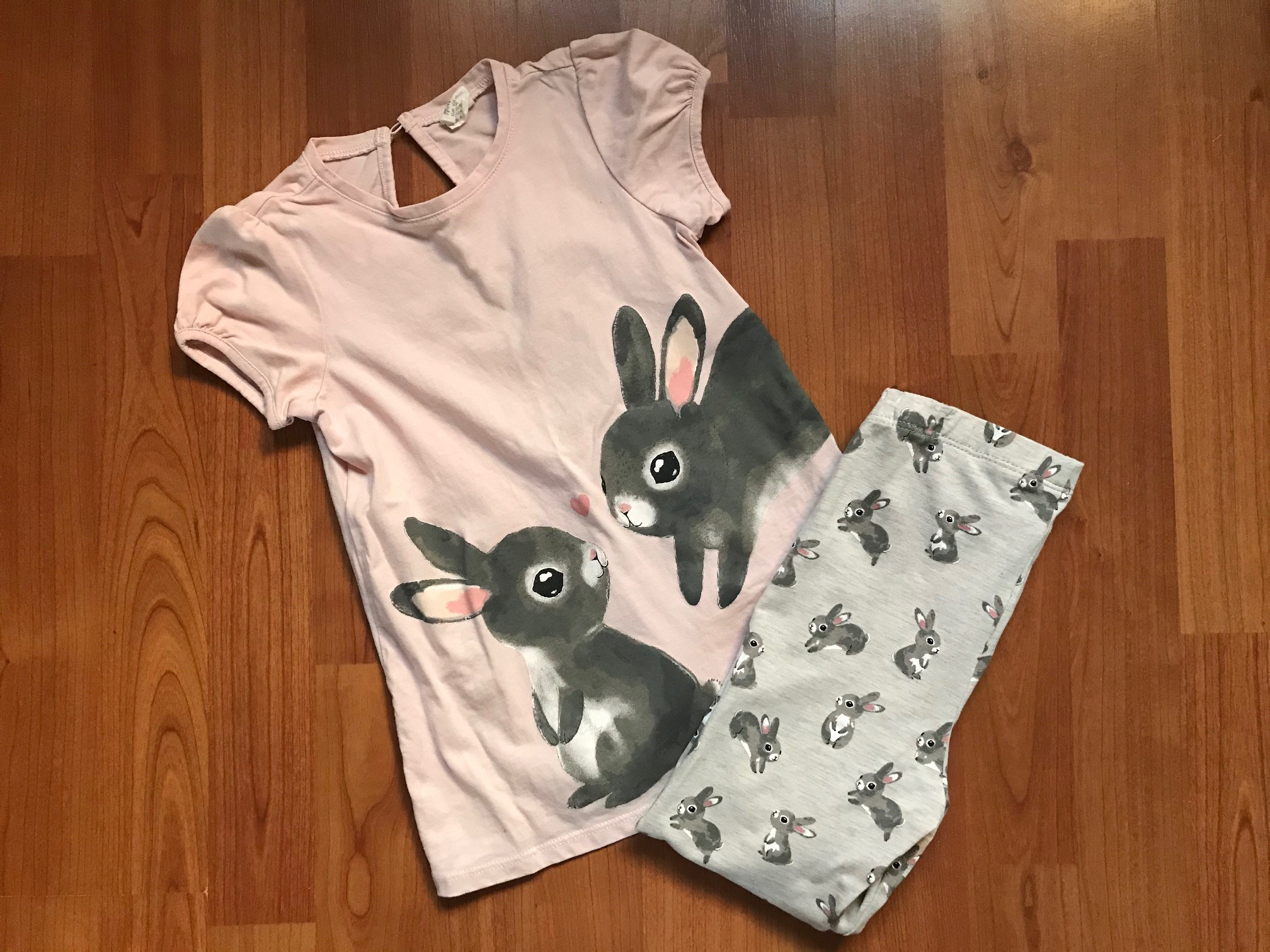 set konijnen lichtroze
