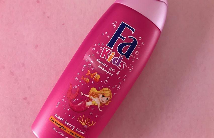 fa kids douchegel shampoo zeemeermin