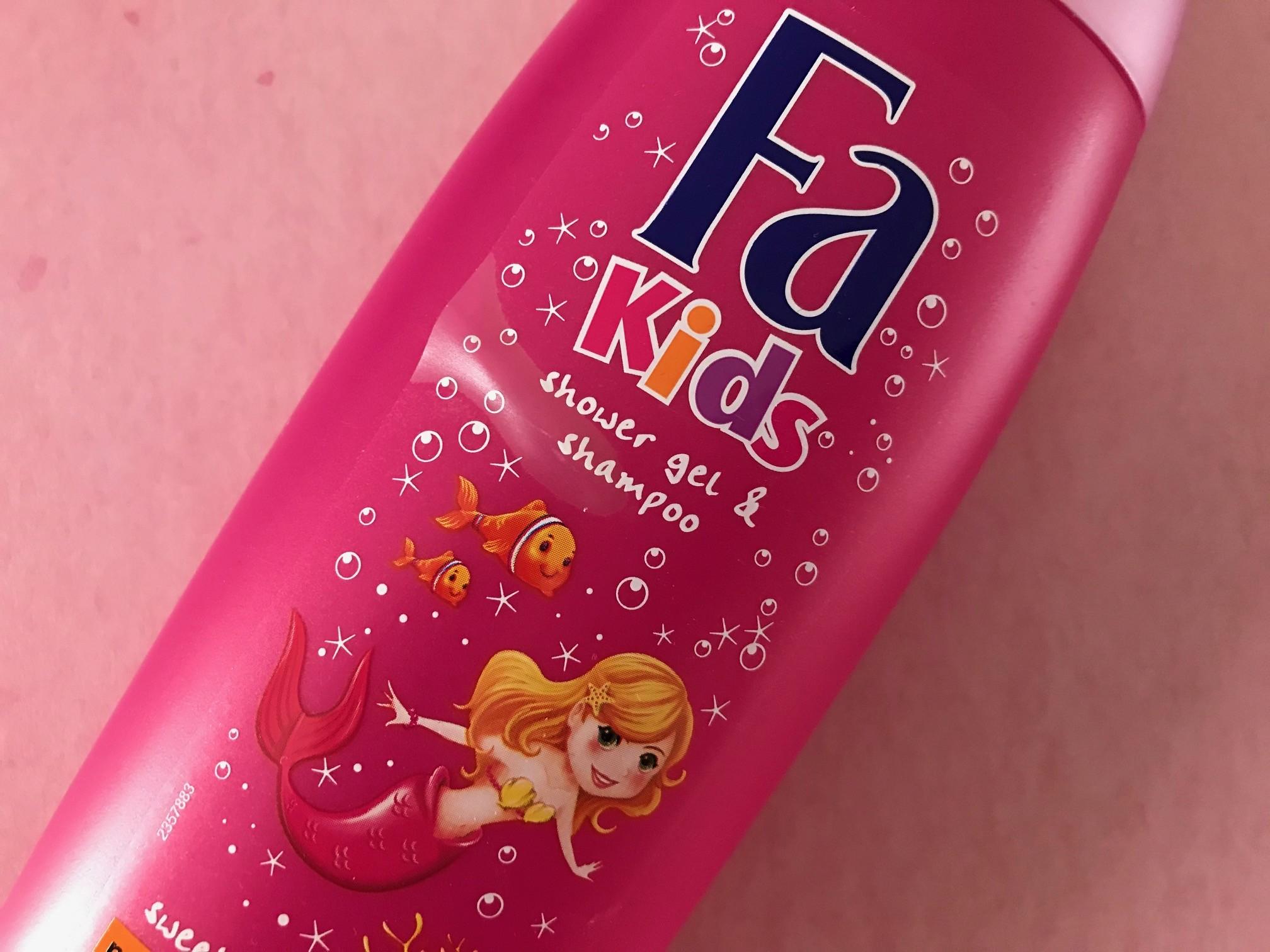 fa kids zeemeermin douchegel shampoo
