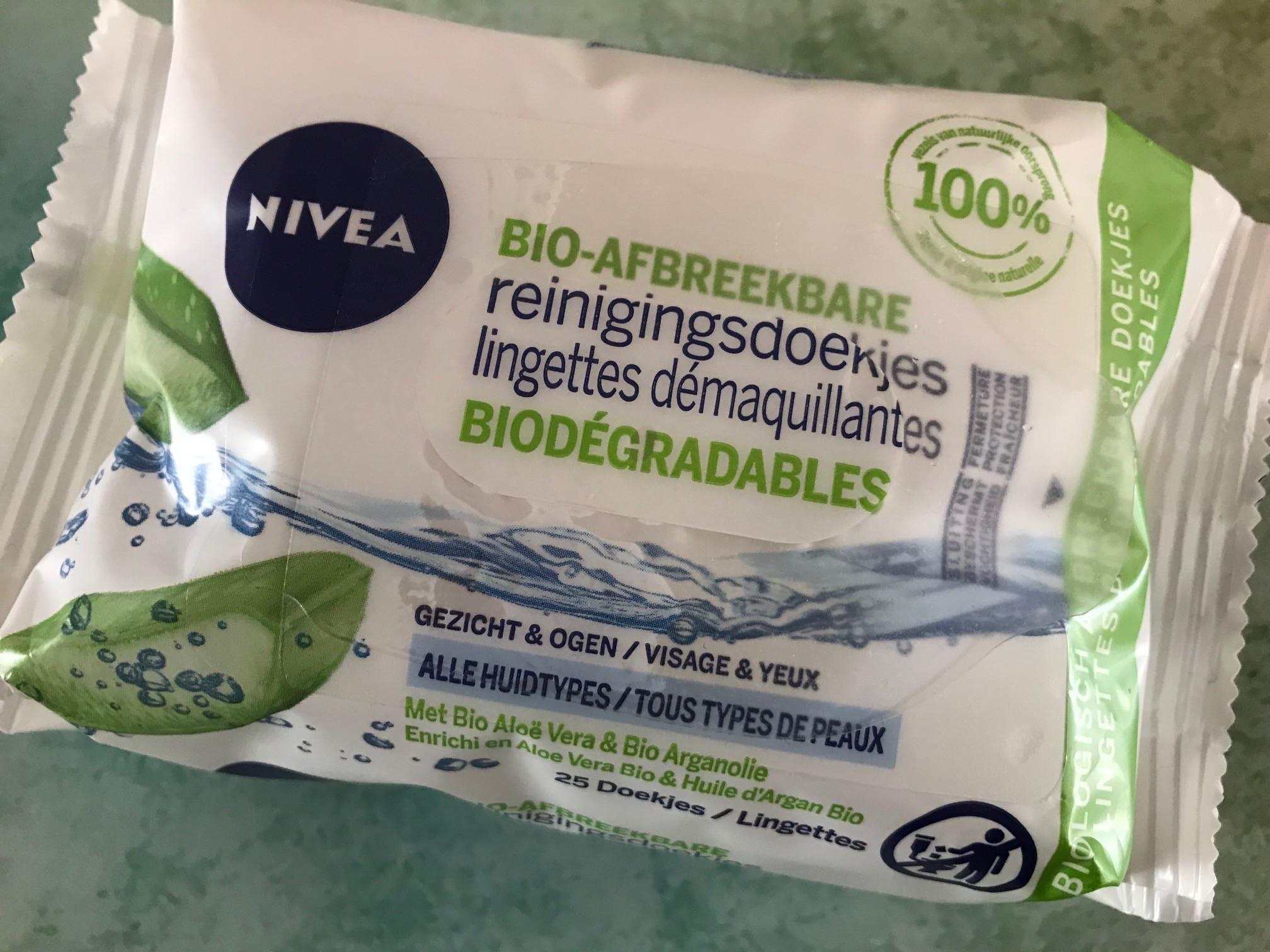nivea biologisch afbreekbare reinigingsdoekjes