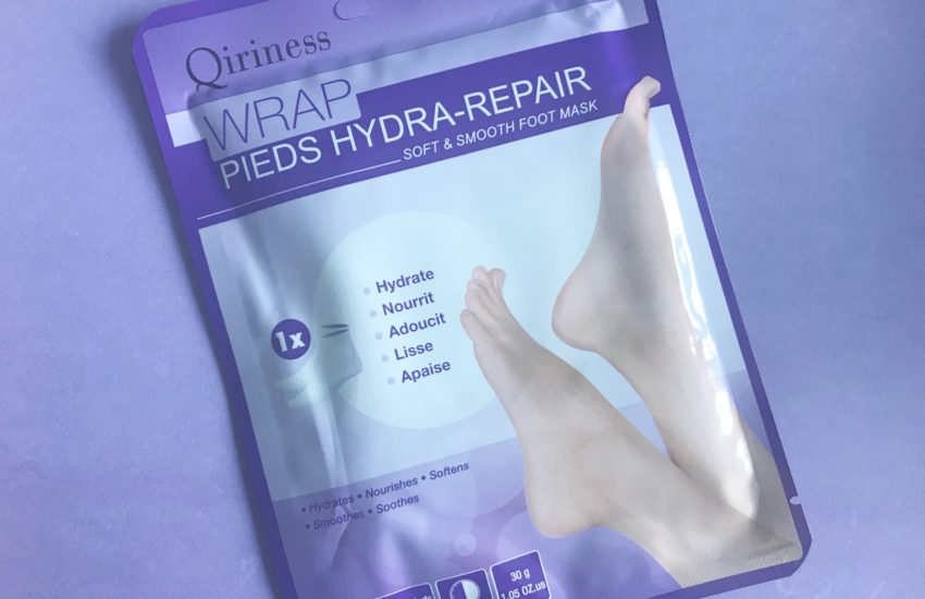 qiriness soft smooth foot mask