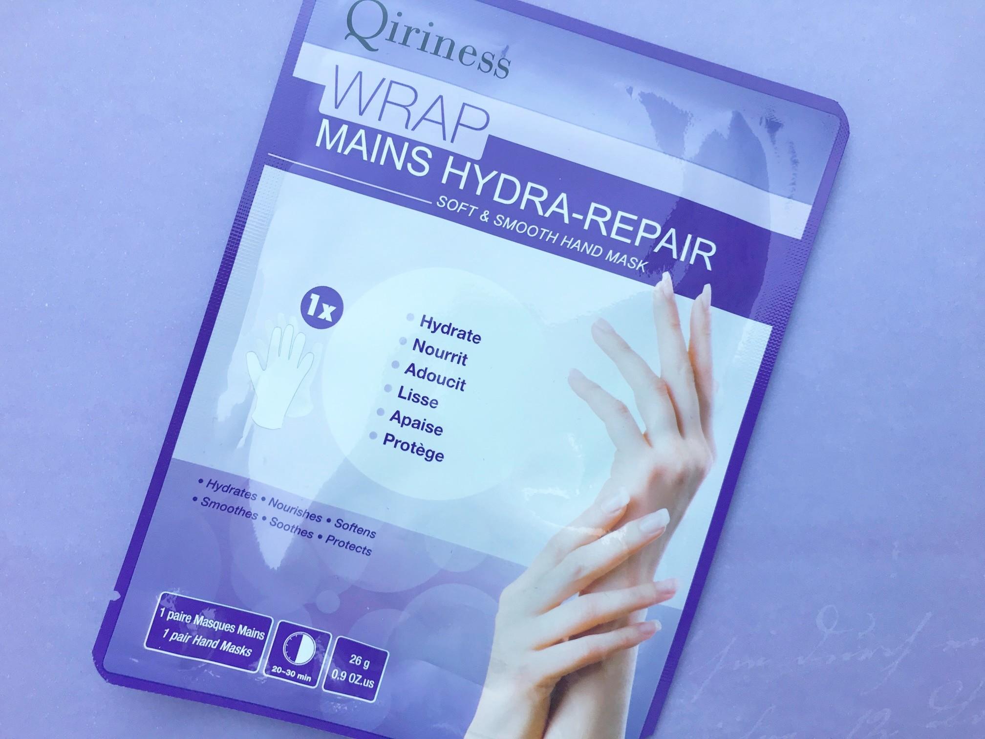 qiriness soft smooth hand mask