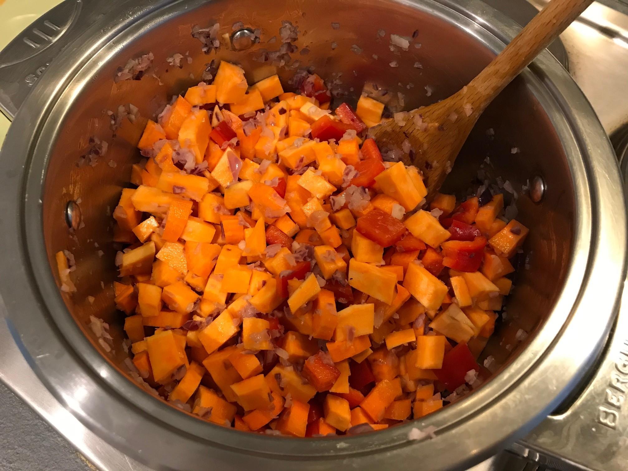 recept zoete aardappelsoep