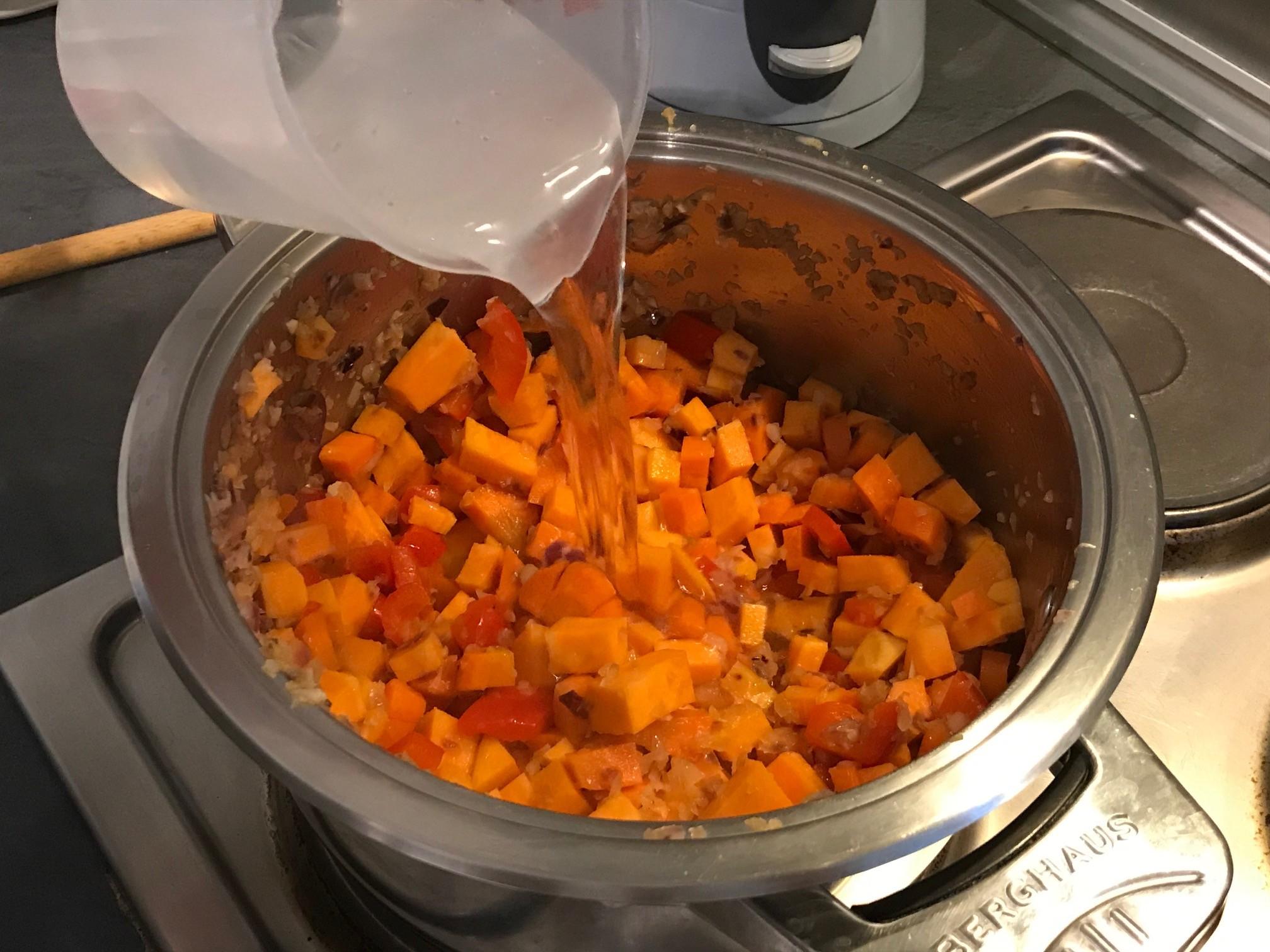 zoete aardappelsoep recept