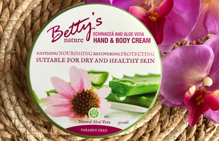 betty's nature hand & body cream