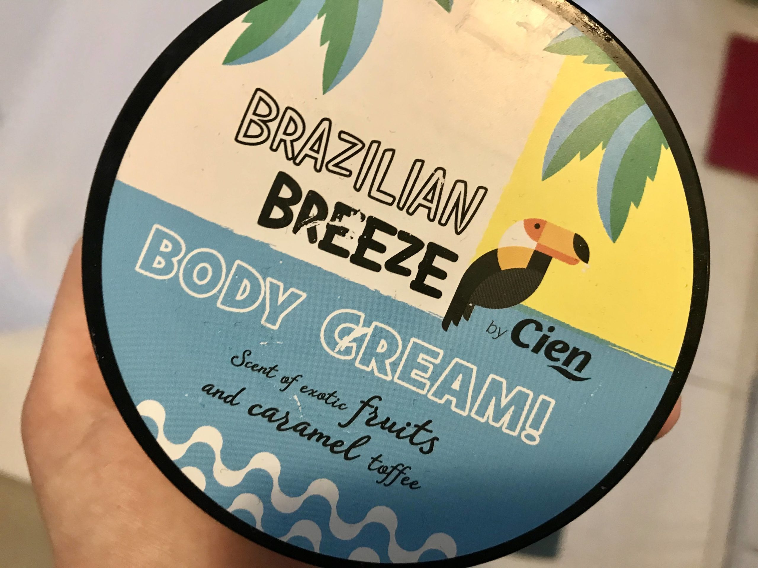 cien brazilian breeze cream