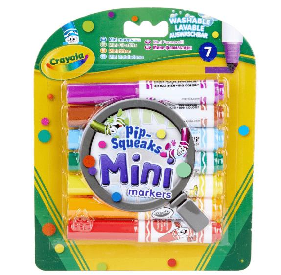 crayola 7 mini afwasbare stiften
