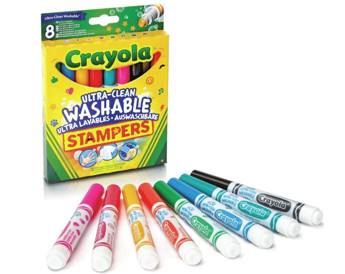 crayola afwasbare stempelstiften