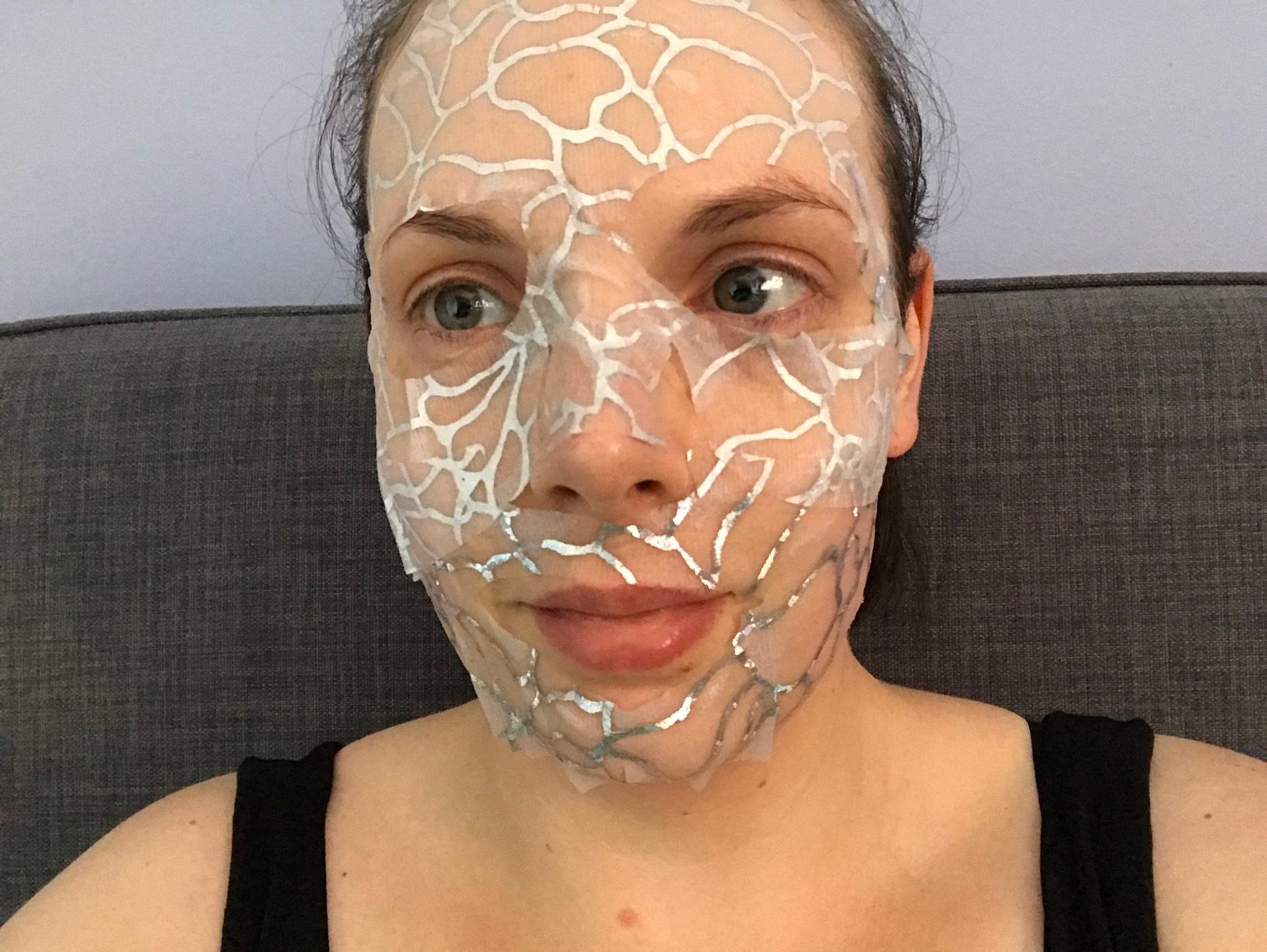 glamglow glowlace radiance boosting hydration sheet mask