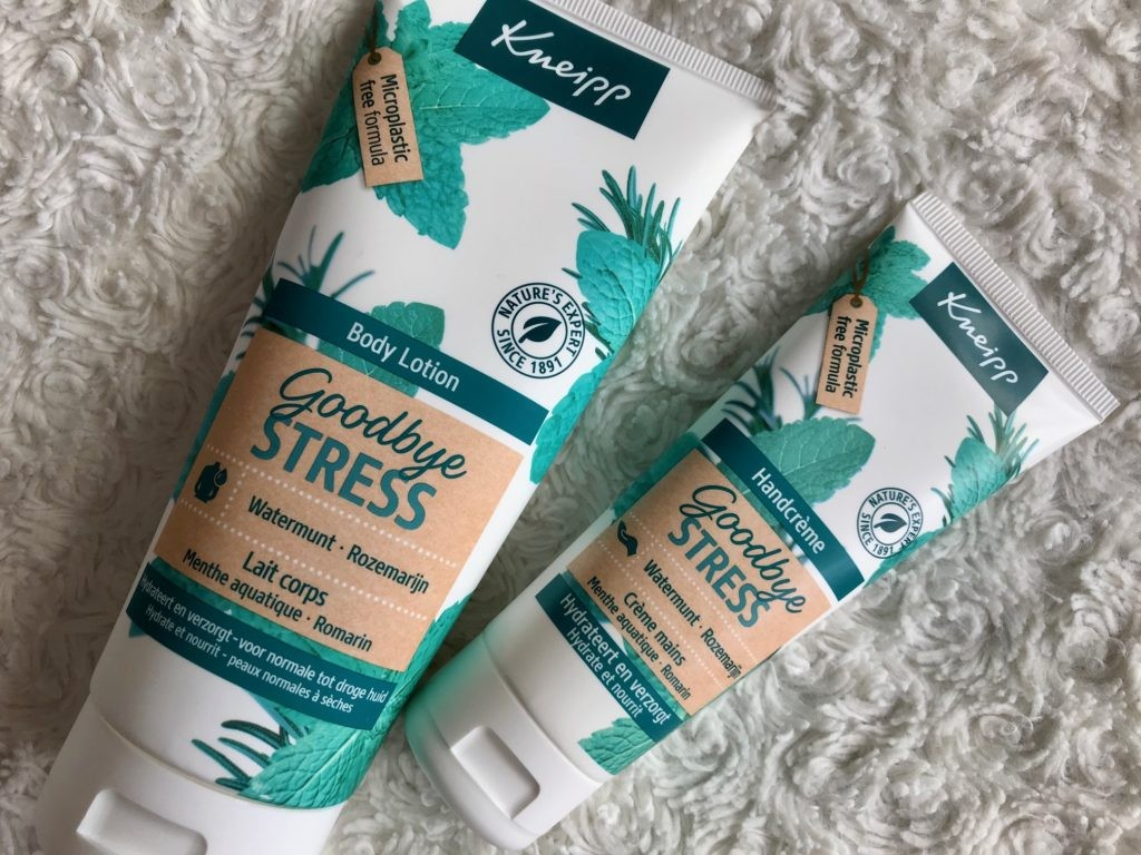 kneipp goodbye stress body lotion handcrème