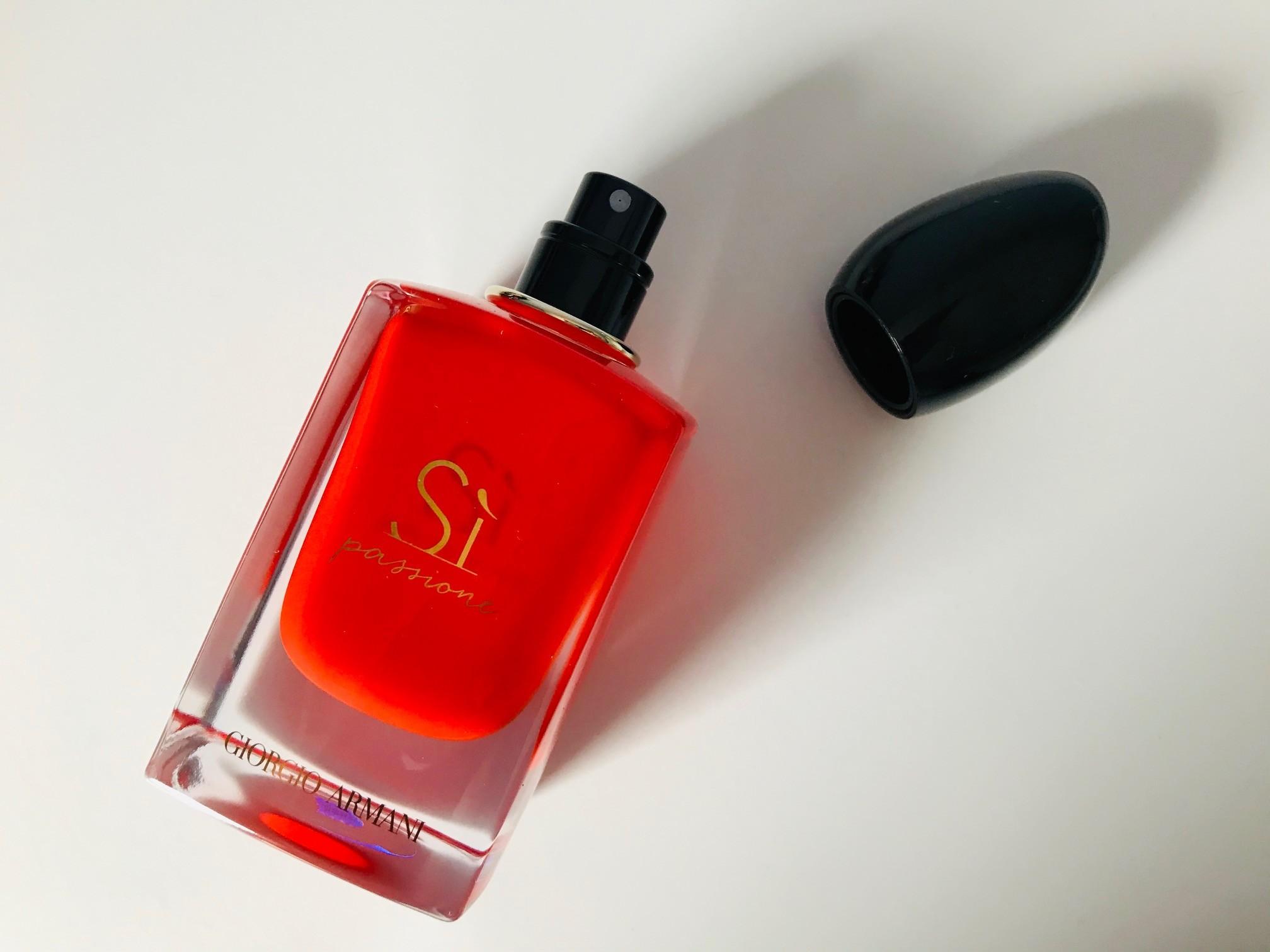 armani si passione intense parfum