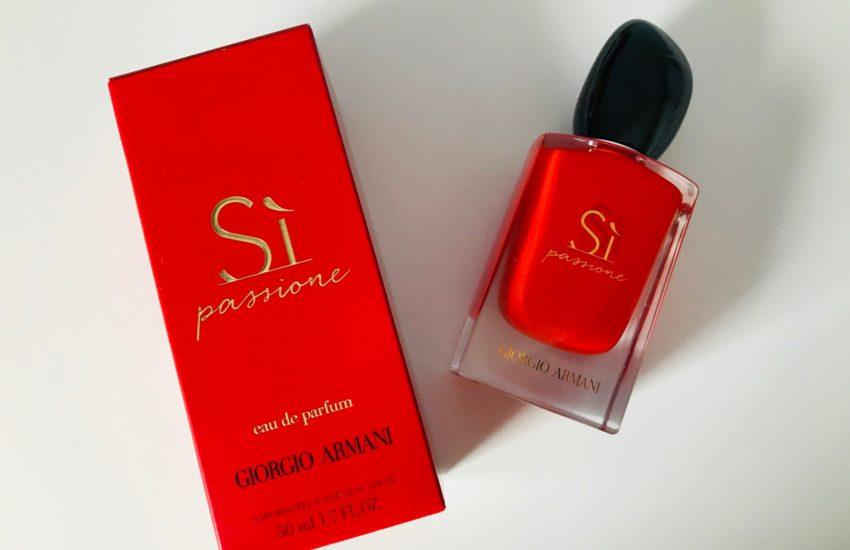 giorgio armani si passione intense parfum
