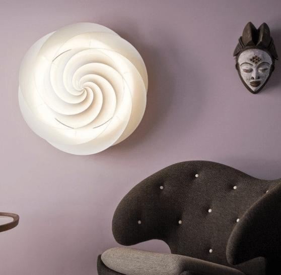 le klint swirl wand- en plafondlamp
