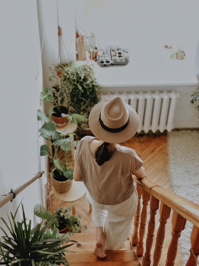 planten trap