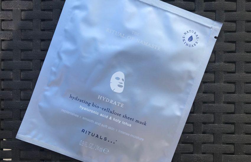 ritual of namasté hydrating sheet mask