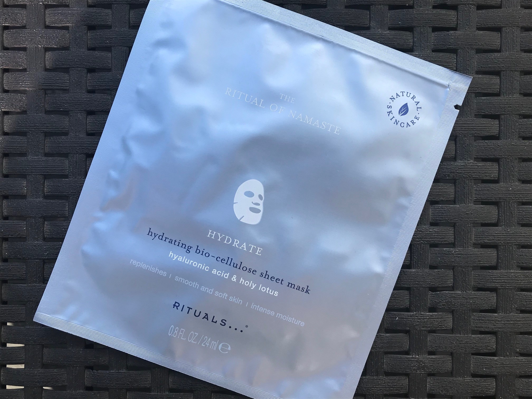 ritual of namasté hydrating sheet mask