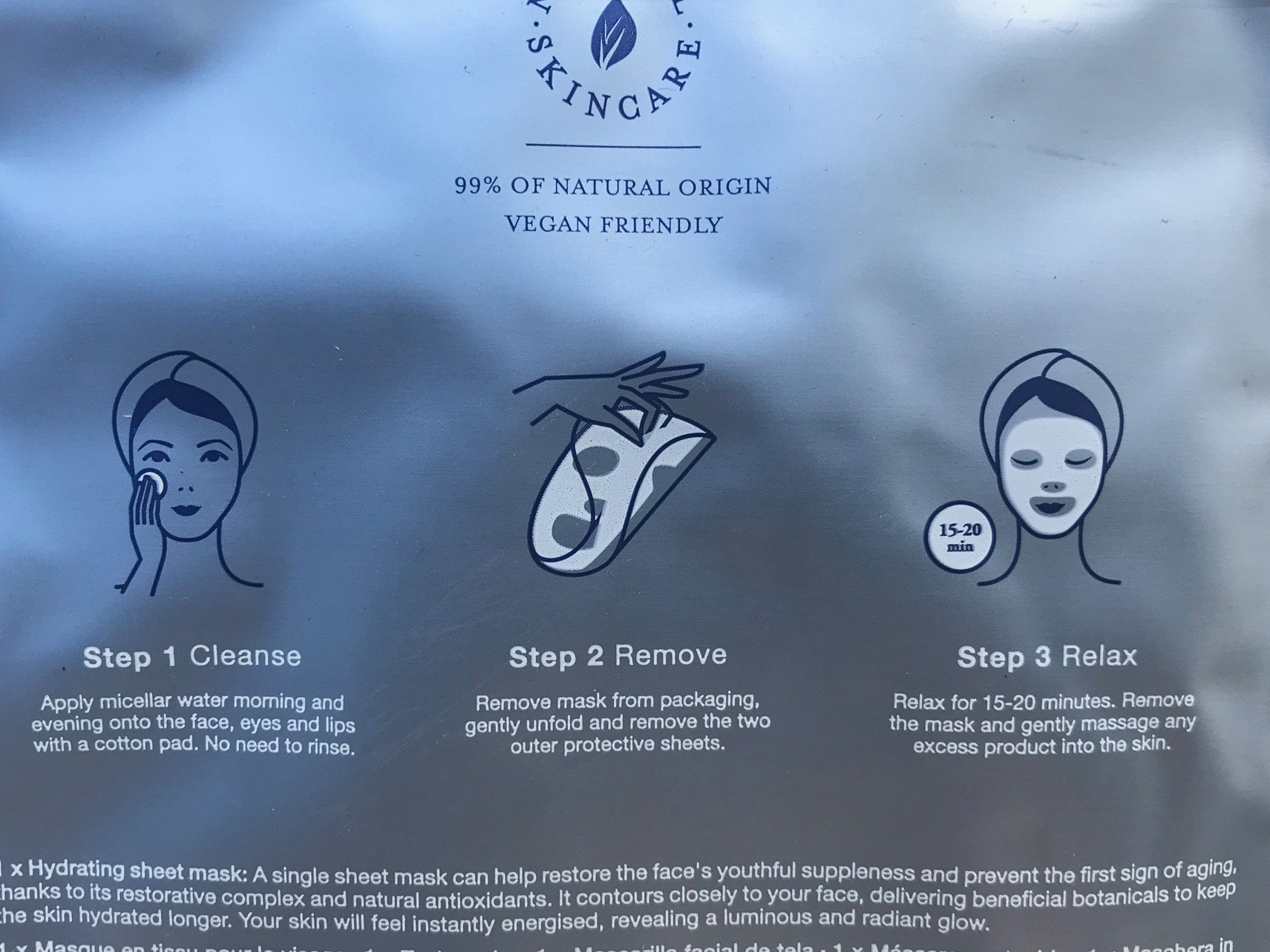 rituals hydrating sheet mask