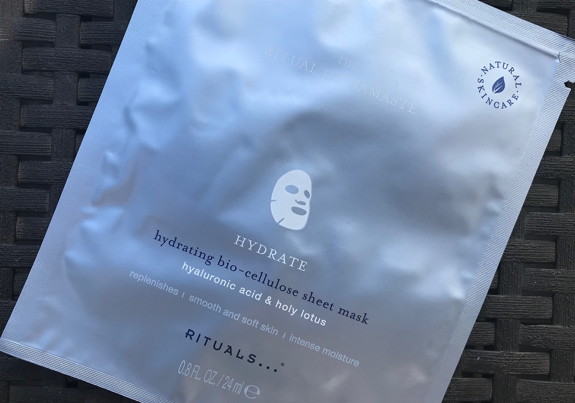 rituals the ritual of namasté hydrating sheet mask