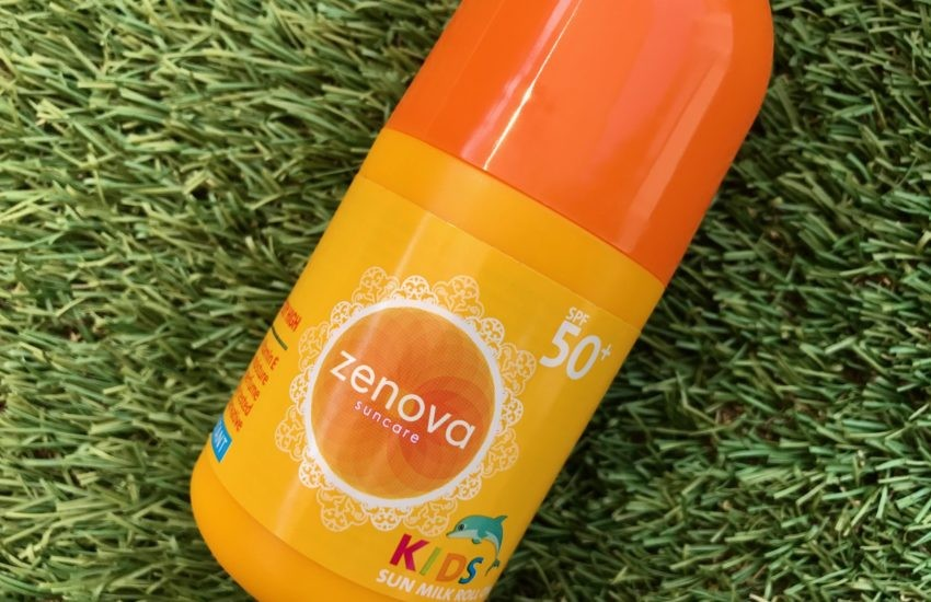 zenova kids sun milk roll on