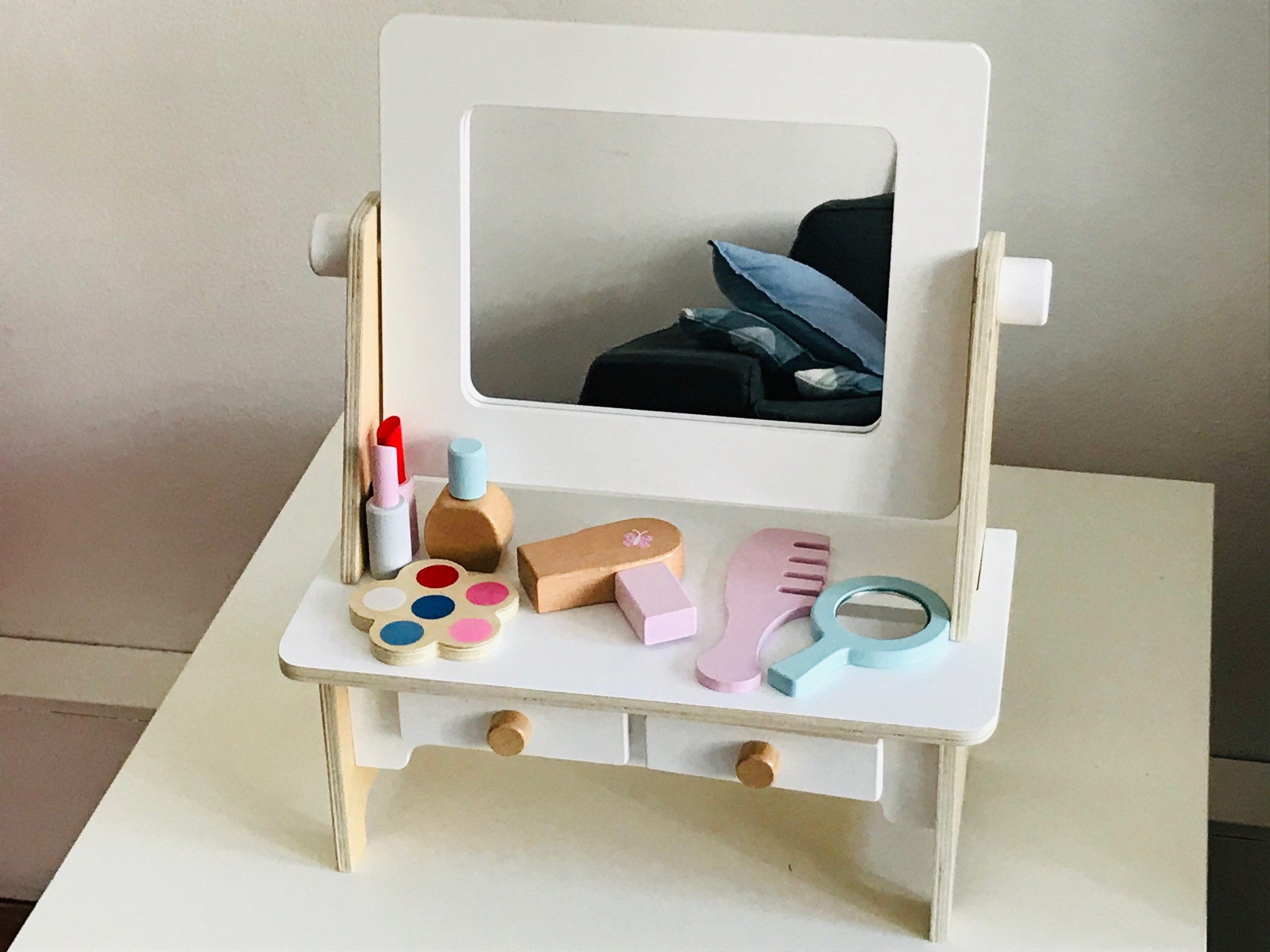 petite amélie houten kaptafeltje