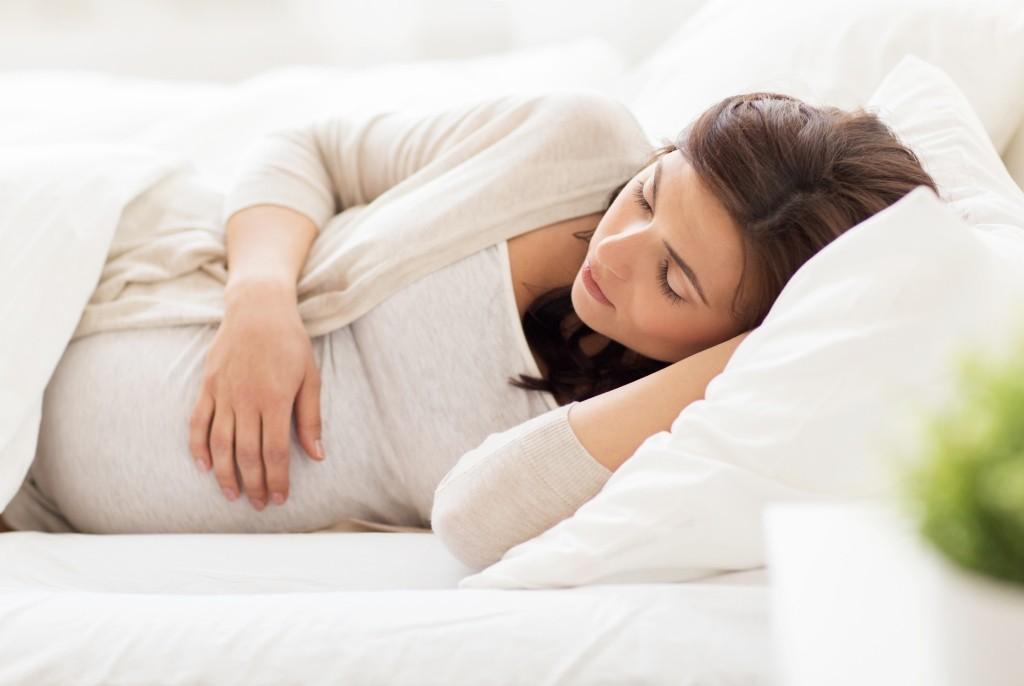 slapen tijdens zwangerschap