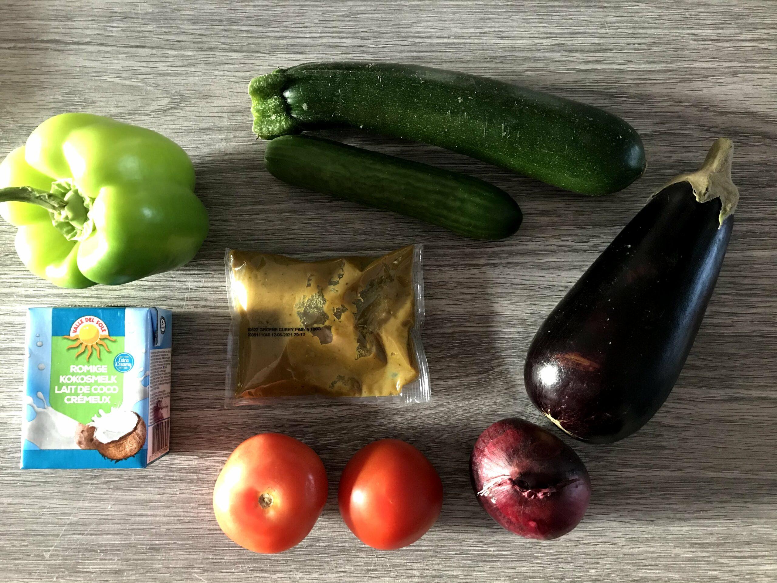 groene curry lidl verspakket