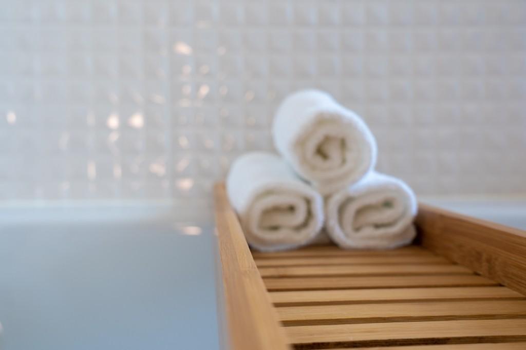 handdoeken opbergen badkamer
