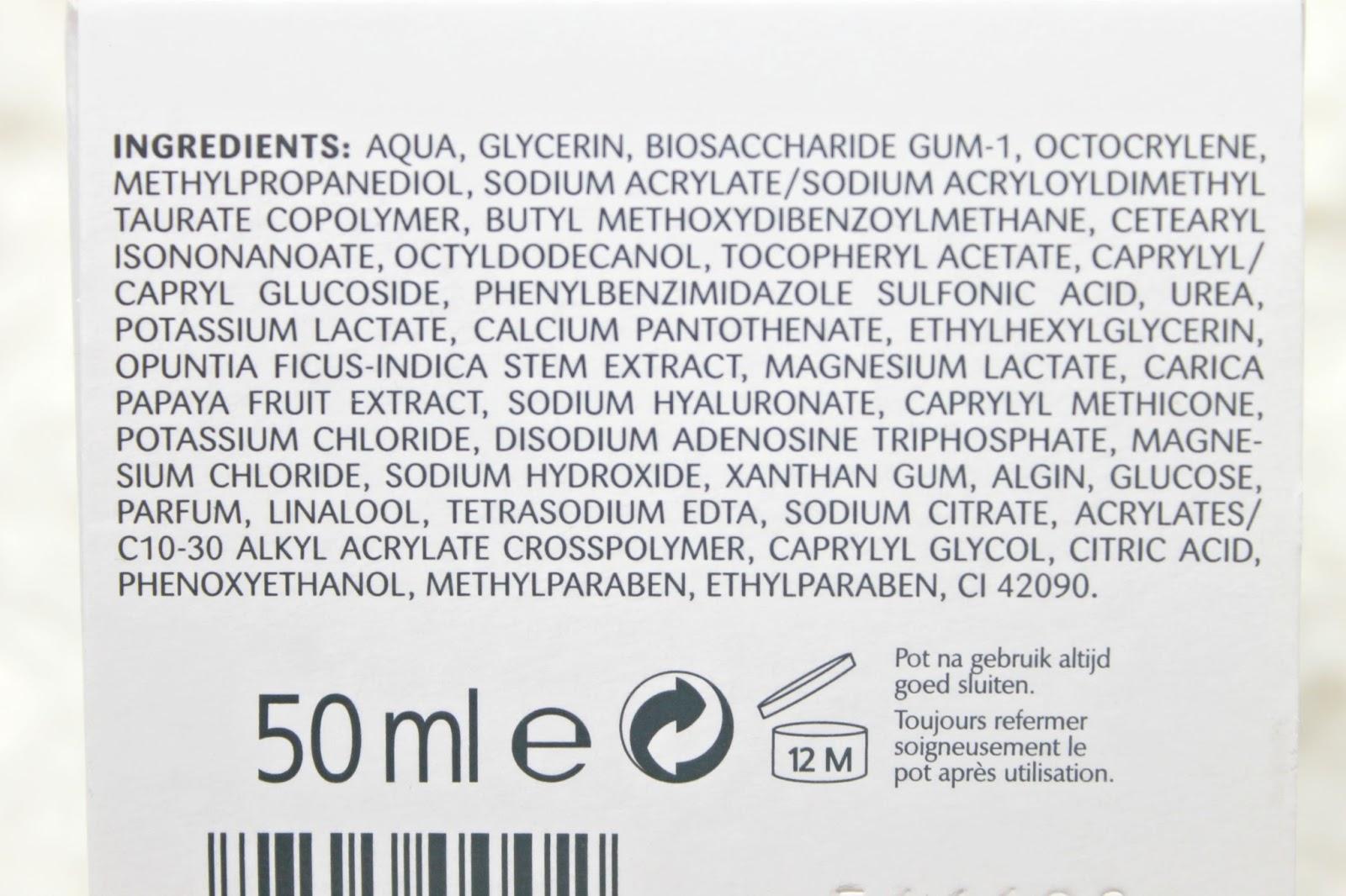 ingrediënten biocura aqua complete