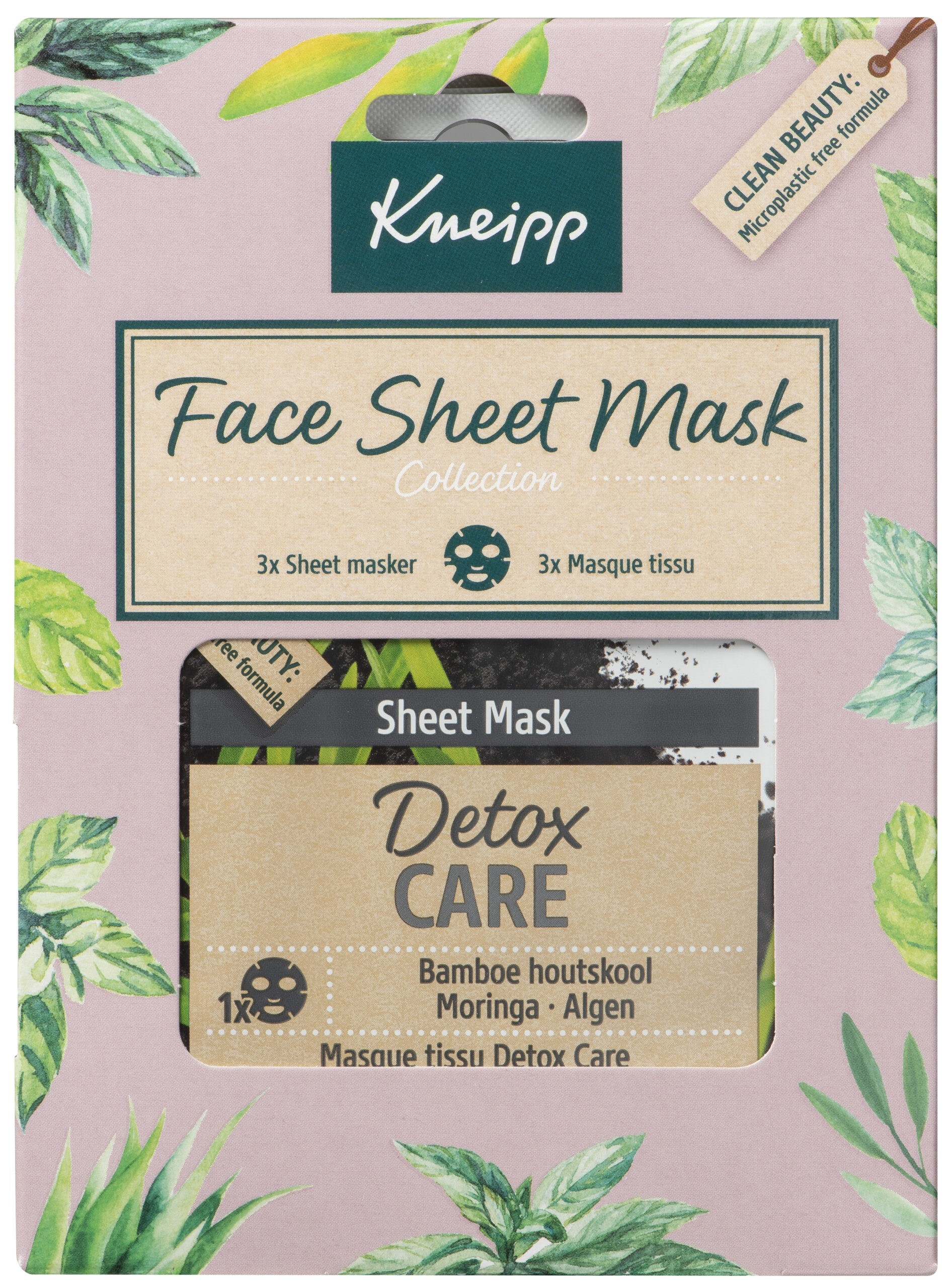 kneipp face sheet mask collection