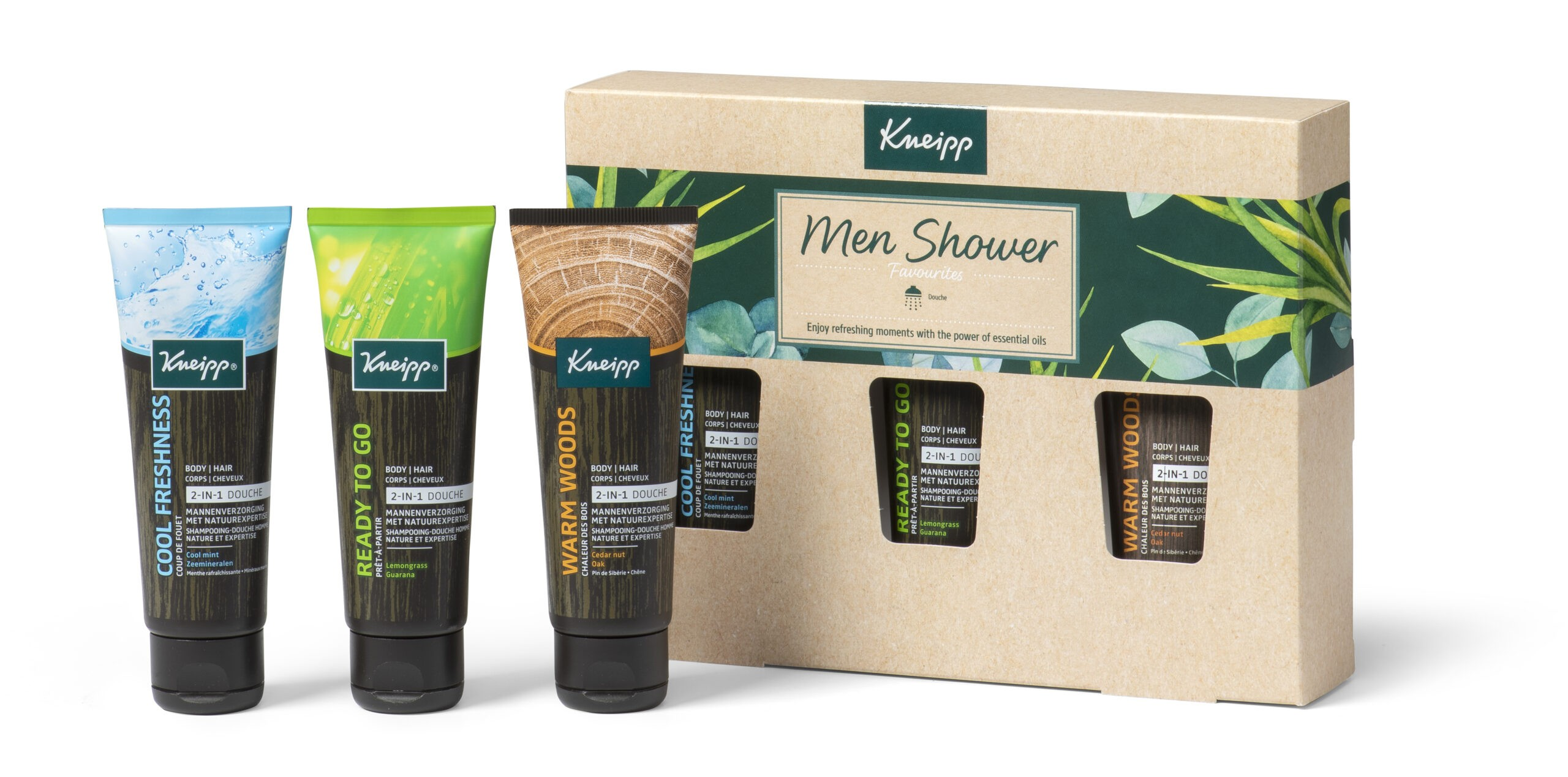 kneipp men shower collection