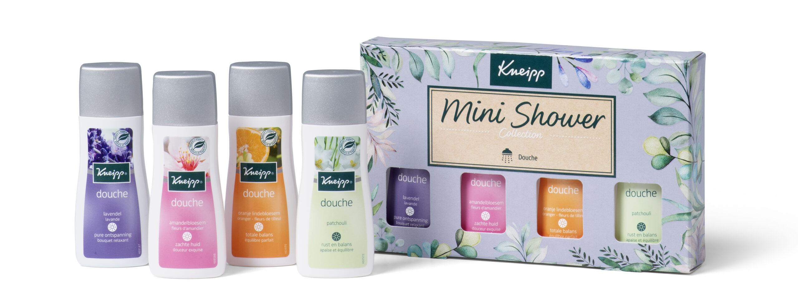 kneipp mini shower collection